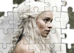 Gra o tron, Game of Thrones, Emilia Clarke - Daenerys Targaryen