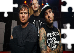 Rock, Thoma, DeLonge, Mark Hoppus, Travis Barker