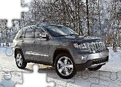 Śnieg, Jeep Grand Cherokee