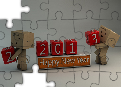 Happy, New Year, 2013, Danbo