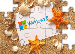 Windows 8, Piasek, Muszelki