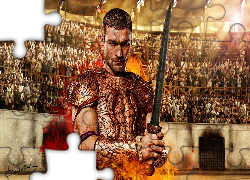 Spartakus, Krew i piach, Andy Whitfield