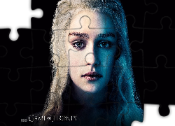 Gra o tron, Game of Thrones, Daenerys - Emilia Clarke