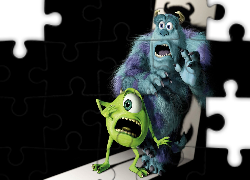 Potwory i spółka, Monsters Inc, Mike Wazowski, James P. Sullivan, Strach