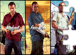 Gta 5, Michael, Franklin, Trevor