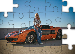 Ford GT, Kobieta, Girl car