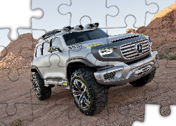 Mercedes, Ener-G-Force, Off road