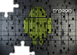 Android, 3D, Logo