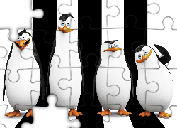 Pingwiny z Madagaskaru, The Penguins of Madagascar, Postacie