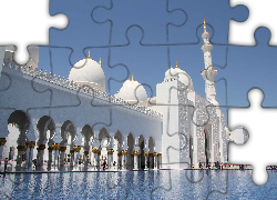 Meczet, Sheikh Zayed Grand Mosque, Abu Dhabi