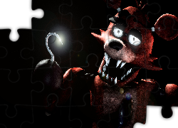 Foxy, Pirat, Gra, Five nights at Freddy