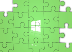 Windows 10, Logo, Zielony