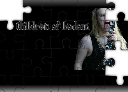 Children Of Bodom,gitara , tatuaż
