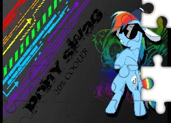 My Little Pony, Rainbow Dash, swag, 20% coller