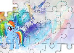 My Little Pony, Rainbow Dash, Znaczek
