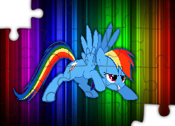 My Little Pony, Rainbow Dash, Tęcza