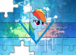 My Little Pony, Rainbow Dash, Cloudsdale