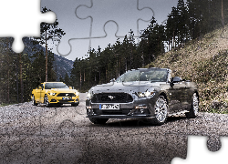 Samochody, Ford, Mustang converbile