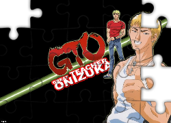 Great Teacher Onizuka, facet, postacie, logo