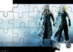 Ff 7 Advent Children, ludzie, faceci