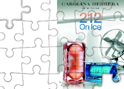 Carolina Herrera, 212, on, ice, perfumy, flakon
