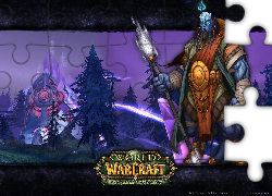 World Of Warcraft The Burning Crusade, postać, wojownik, fantasy