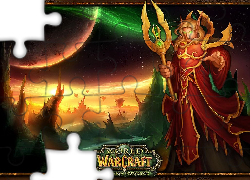 mężczyzna, fantasy, elf, World Of Warcraft The Burning Crusade