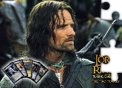 The Lord of The Rings, Viggo Mortensen, zbroja, karty