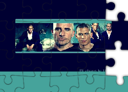 Prison Break, Skazany na śmierć, Wentworth Miller, Dominic Purcell, bracia