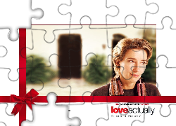 Love Actually, Emma Thompson, kokarda