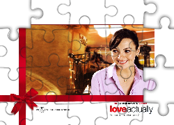 Love Actually, Martine McCutcheon, święta