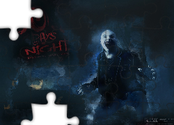 30 Days Of Night, łysy, chłopak, wilkołak