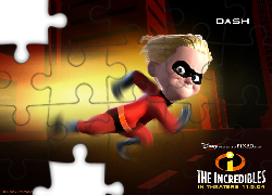 Dash, Iniemamocni, The Incredibles