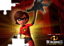 Iniemamocni, The Incredibles, Postać, Elastyna