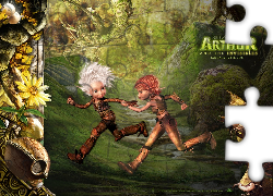 Artur i Minimki, Arthur and the Invisibles, elfy