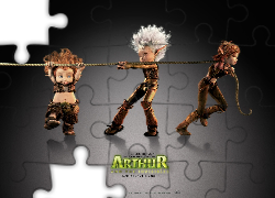 Artur i Minimki, Arthur and the Invisibles, elfy, lina