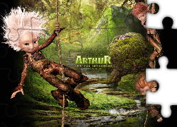 Artur i Minimki, Arthur and the Invisibles, liany, las