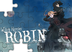 motor, postacie, Witch Hunter Robin