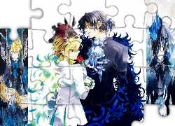 Pandora Hearts, Oz, Gilbert