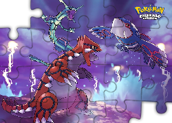 Kyogre, Groudon, Emerad