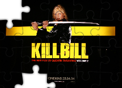 Szarna, Skóra, Uma Thurman, Kill Bill 2