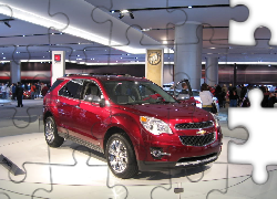 Chevrolet Equinox, Salon, Genewa