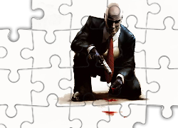 Hitman Contracts, Broń, Krew, Hitman