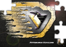 Logo, Drużyny, NHL, Pittsburgh Penguins