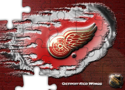 Logo, Drużyny, NHL, Detroit Red Wings