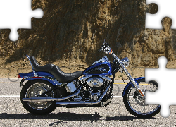 Chopper, Harley Davidson Softail Custom