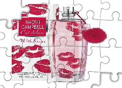 Woda, Toaletowa, Naomi Campbell, With, Kisses
