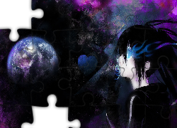 Black Rock Shooter, Oko, Planeta