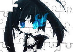 Black Rock Shooter, Karykatura