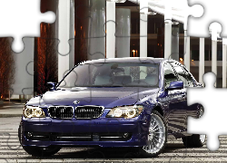 Granatowe, BMW Alpina B7 F01, Sedan, 2007
